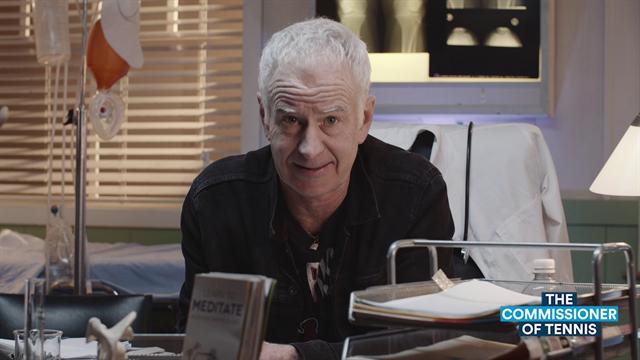 Open de Australia 2020: El Comisionado McEnroe versiona una mítica canción de rock por el planeta