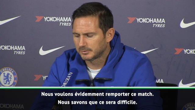 """24e j. - Lampard : """"Nous devrons être sur nos gardes contre Arsenal"""""""