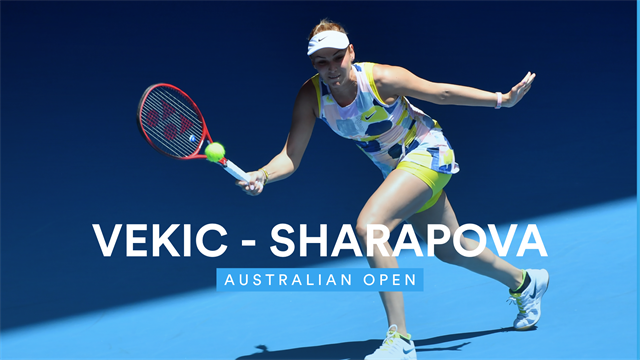 Sharapova bows out at Australian Open in final match of her career