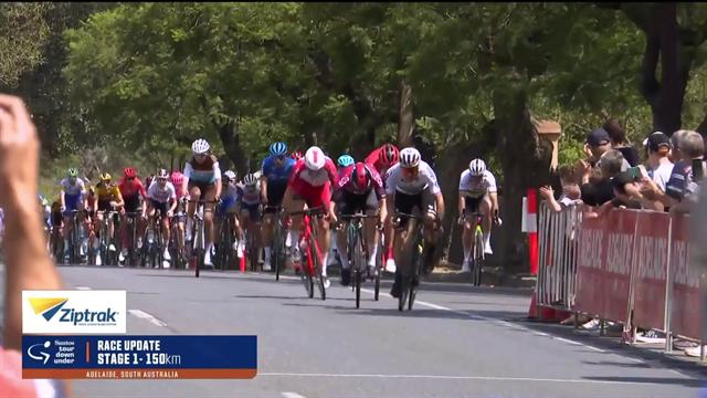Tour Down Under: Sam Bennett conquista la prima tappa, quarto posto per Elia Viviani