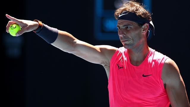 Open de Australia 2020, Nadal-Dellien: La brillantez se asomó al final (6-2, 6-3 y 6-0)