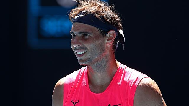 Rafael Nadal sans difficulté face à Pablo Carreno Busta — Open d'Australie