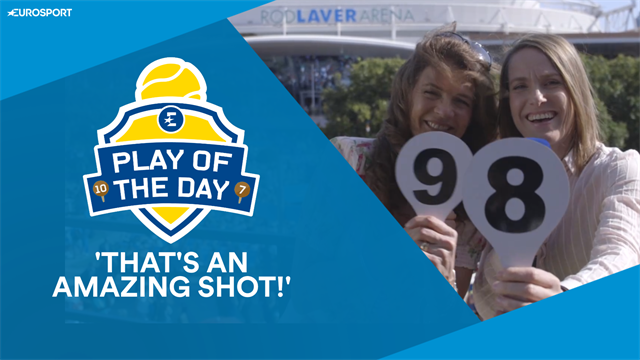 Play Of The Day Harsh Henin Judges Drop Shots And Backhand Smashes With Annabel