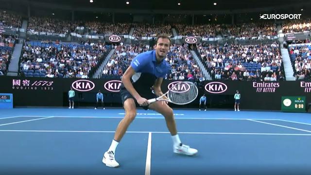Десятка лучших ударов Australian Open-2020. На первом месте – чумовая игра Медведева у сетки