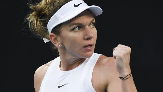 Simona Halep downplays wrist injury fears, saying: 'It's nothing dangerous'