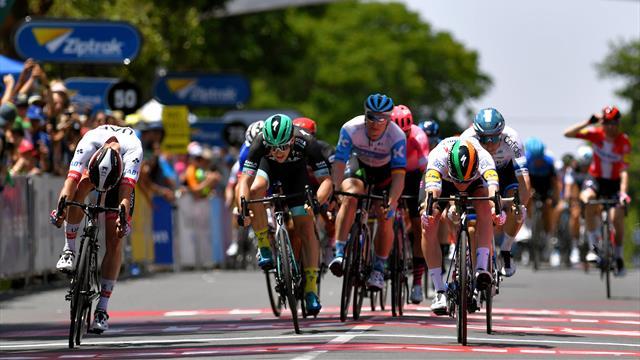 Sam Bennett powers to Tour Down Under Stage 1 win