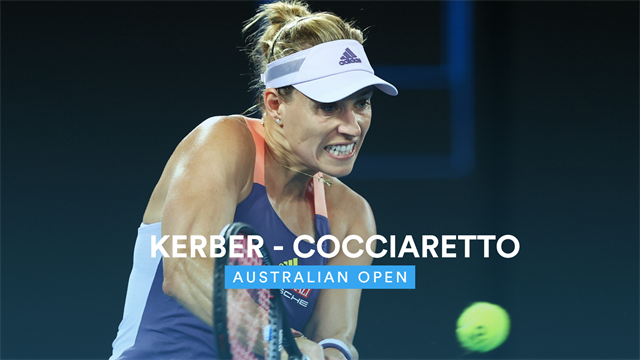 Highlights: Kerber sees off Cocciaretto