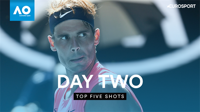 Top 5 Shots of the Day: Nadal, Medvedev star