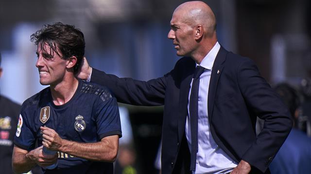 Odriozola zum FC Bayern? Das sagt Real-Trainer Zidane