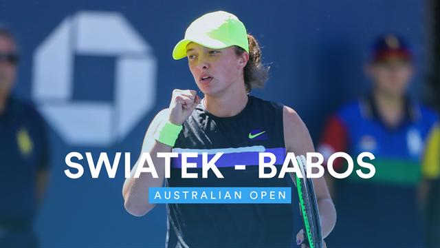 Open de Australia 2020: Swiatek-Babos, vídeo resumen del partido
