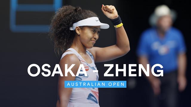 Open de Australia 2020: Osaka-Zheng, vídeo resumen del partido