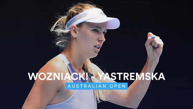 Sieg nach sechstem Matchball: Wozniackis Abchiedstournee geht weiter