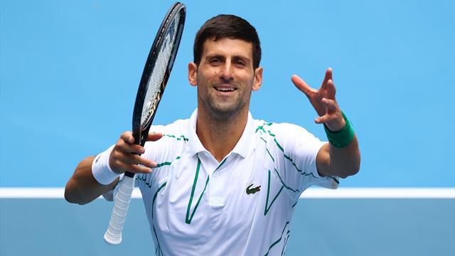 Coup d'envoi des huitièmes : Un (petit?) test pour Djokovic, Federer sur ses gardes