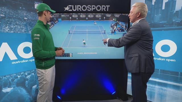 'Now I know how you felt!' Djokovic breaks down victory with former coach Becker