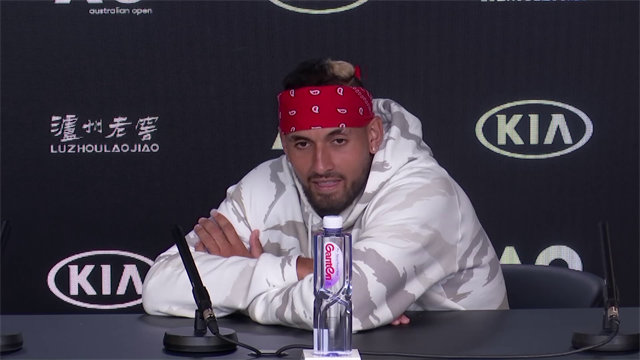 'Is that a serious question? You've got to do better than that' - Kyrgios hits out at reporter