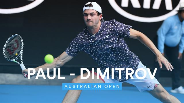 Paul packt zu! Fünfsatz-Triumph gegen Dimitrov