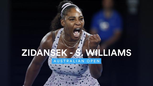 Highlights: Williams toils but passes stern Zidansek test
