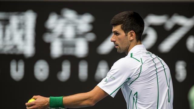 """Djokovic parle de son service avec Becker : """"C'était une faiblesse, c'est devenu une arme"""""""