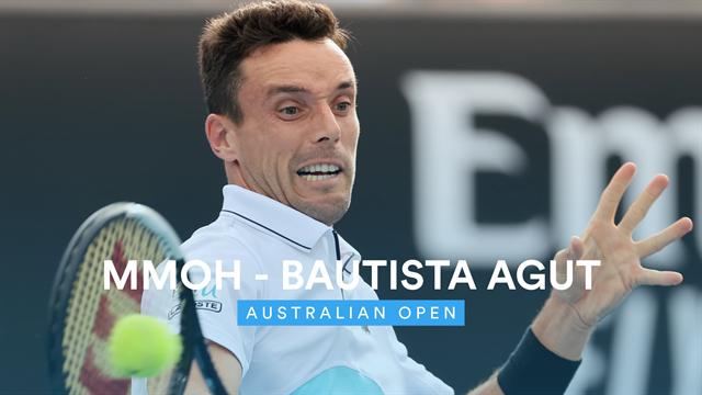 Open de Australia 2020: Mmoh-Bautista, vídeo resumen del partido