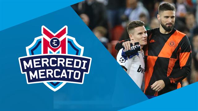 Gameiro au PSG, Giroud au Barça et Cavani à l'Inter ? On en parle à 13h dans Mercredi Mercato
