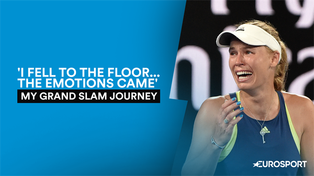 Glory, despair and a huge casino spree - Wozniacki's AO journey
