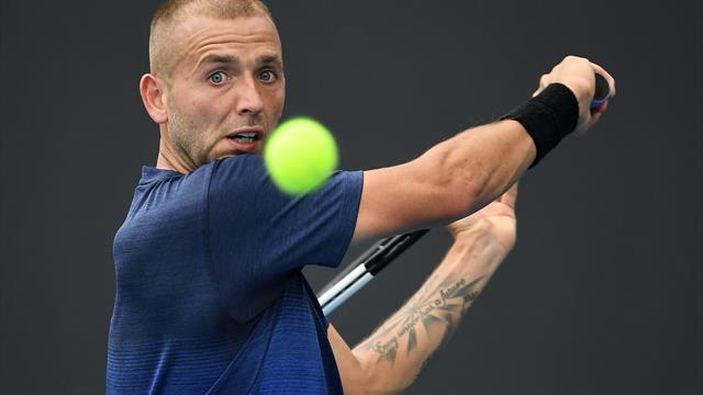 Evans beats Khachanov in Rotterdam, top seed Medvedev beaten by Pospisil