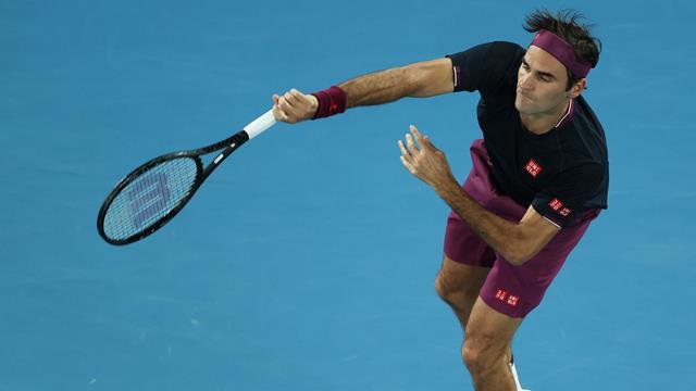 Ende mit Stil: Federer lässt in Runde zwei die Muskeln spielen