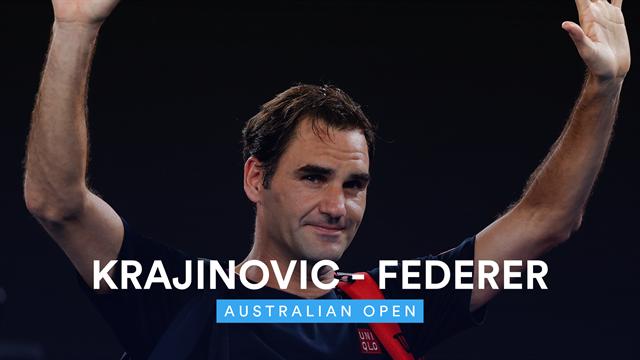 Highlights: Federer dismantles Krajinovic in 92 minutes