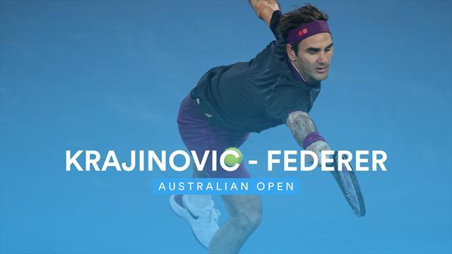 Leicht, locker, unbeschwert: So nahm Federer die zweite Hürde