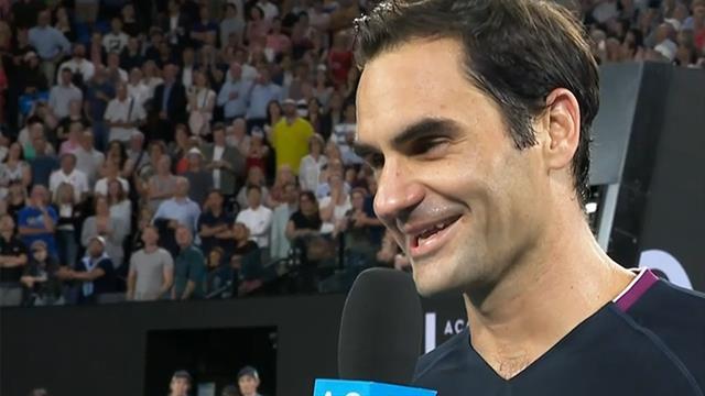 """""""Wie alt bist du eigentlich?"""" Coole Reaktion von Federer"""