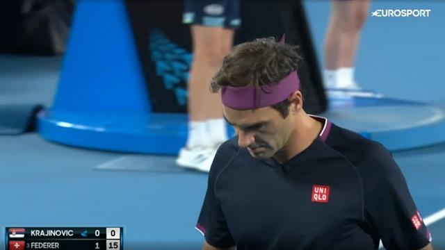 Крайинович упирался только во втором сете – Федерер был намного сильнее