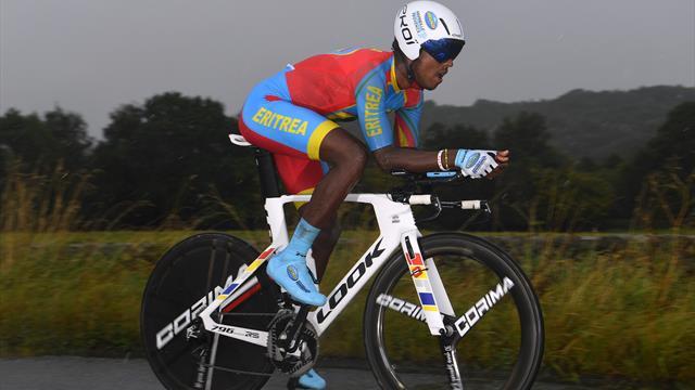 Biniam Girmay remporte la 3e étape de la Tropicale Amissa Bongo (...) — Cyclisme