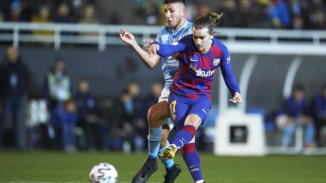 Griezmann sauve le Barça d'une immense déconvenue