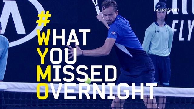 Wat is er gebeurd tijdens de vierde nacht van de Australian Open?