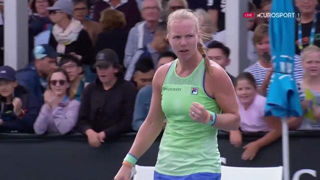 Australian Open   Het winnende punt van Kiki Bertens tegen Rodionova