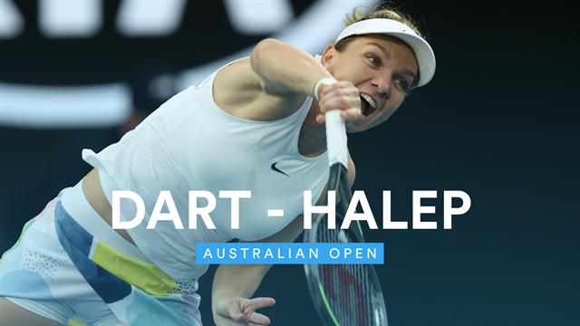 Australian Open: Halep - Dart (rezumat)