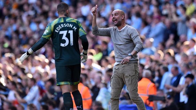 """Allarme rigori al Manchester City. Guardiola: """"Ederson è il migliore rigorista, potrebbe calciarli"""""""