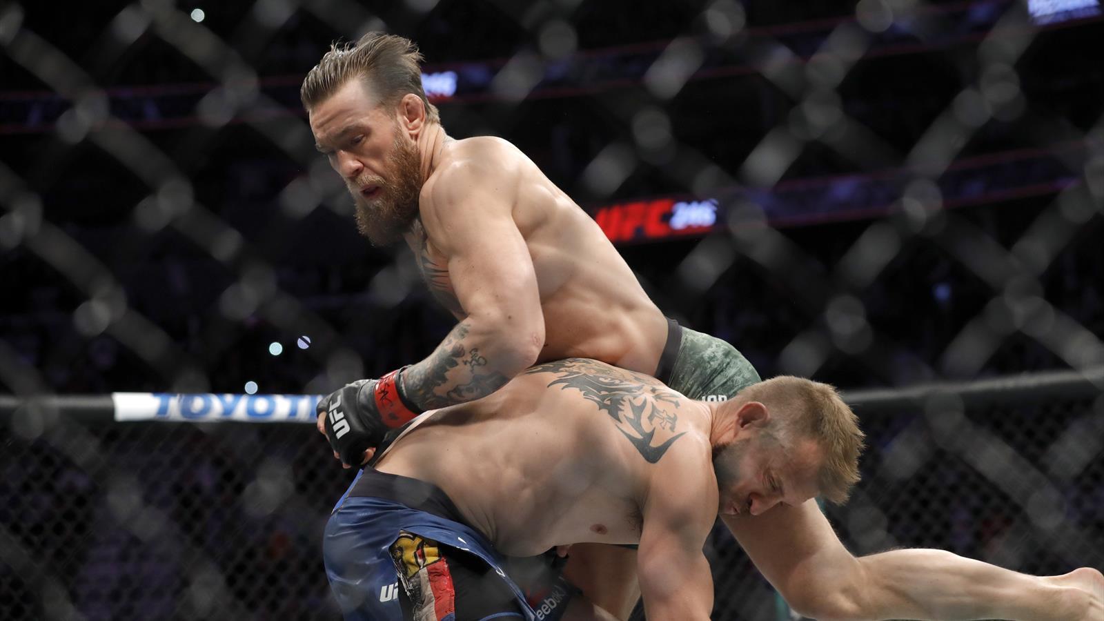 UFC выложил бой Конора против Серроне в слоу-мо – челюсть падает на пол от восхищения
