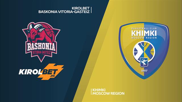 Highlights: Kirolbet Baskonia Vitoria-Khimki Mosca 83-79