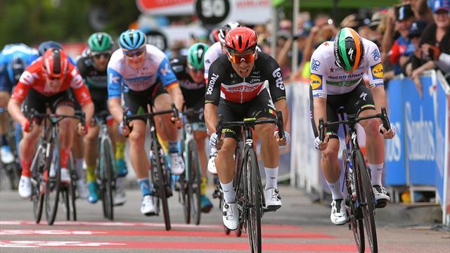 Impérial au sprint, Ewan a récidivé devant Bennett  : revivez l'arrivée de la 4e étape en vidéo