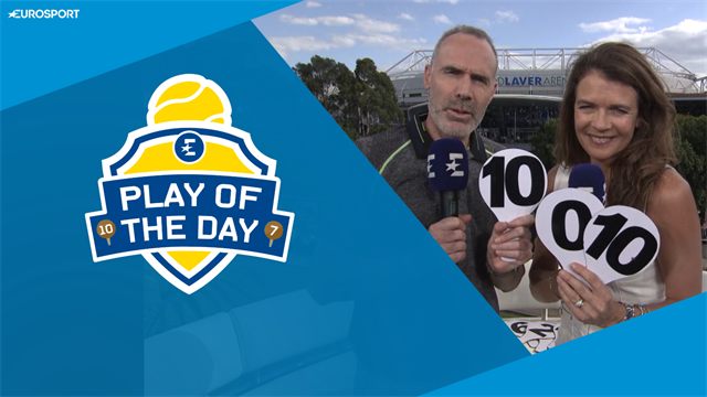 Play of the Day: 'Serena, that really was a howler!'