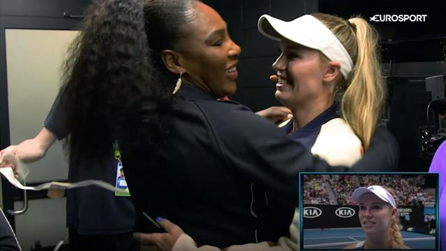 Serena leads tributes to 'fighter' Wozniacki in retirement video