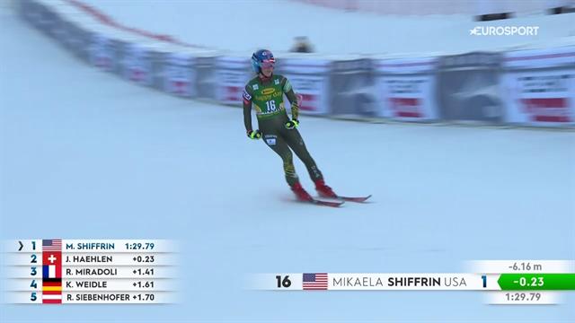 Mikaela Shiffrin non ha rivali: sua la discesa di Bansko