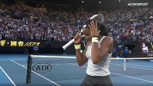 15-летняя Гауфф вынесла Осаку и лишила Australian Open действующей чемпионки