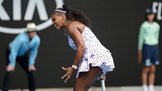 """Mouratoglou : """"Un calvaire du début à la fin pour Serena"""""""