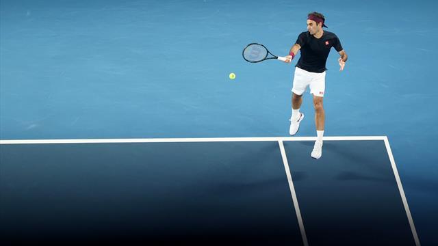 27 Schläge! Wahnsinns-Rally zwischen Federer und Millman