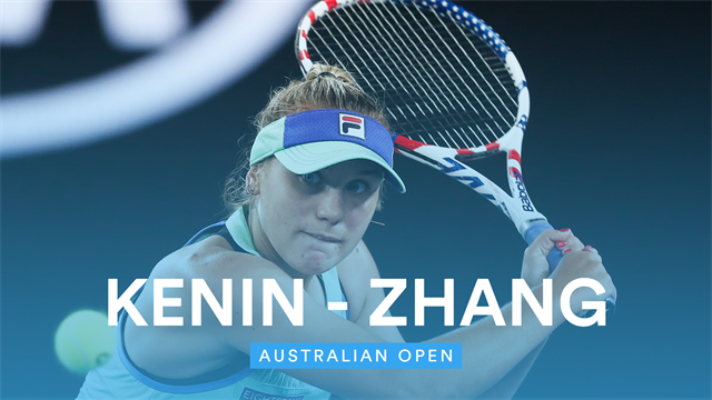 Open de Australia 2020: Kenin-Zhang, vídeo resumen del partido