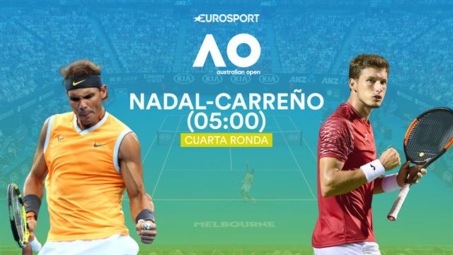 Open de Australia 2020, Rafael Nadal-Pablo Carreño: Solo puede quedar uno (05:00)