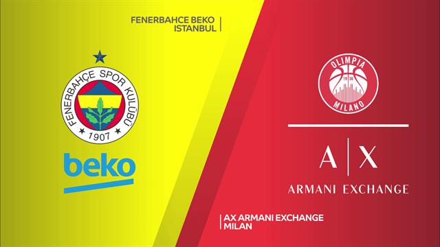 Highlights: Fenerbahçe Beko Istanbul-AX Armani Exchange Milano 73-64