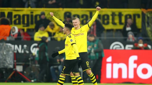Un doublé en 15 minutes pour Haaland et Dortmund s'impose
